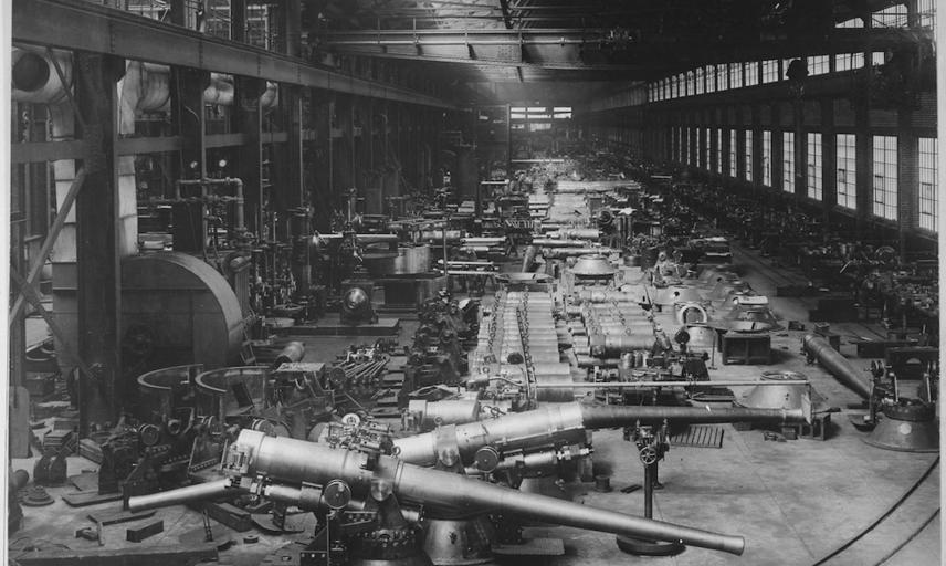 Bethlehem Steel Factory, 1918